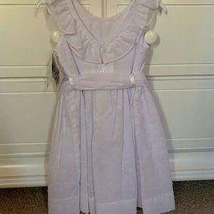 the bailey boys Dresses - NWT The Bailey Boys white Swiss dot dress 3t